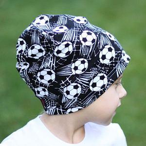 Zimní čepice fotbal