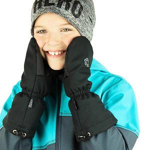 Zimní rukavice černé