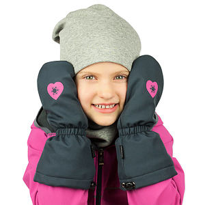 Zimní rukavice šedé