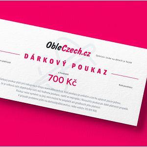 ObleCzech - dárkový poukaz 700 Kč
