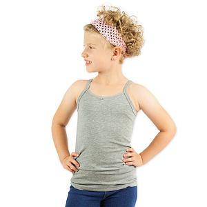 Dívčí košilka šedá