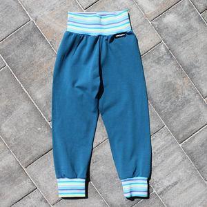 LETNÍ / pyžamové tepláčky modré
