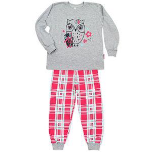 Pyžamo sovička šedá