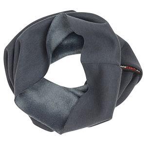 Zimní nákrčník tmavě šedý