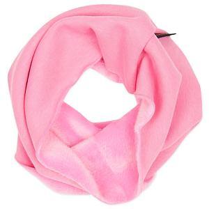 Zimní nákrčník světle růžový