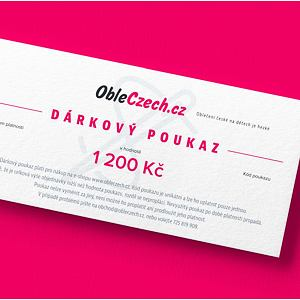 ObleCzech - dárkový poukaz 1 200 Kč