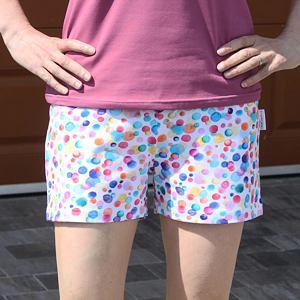 Pyžamové kraťasy barevné bubliny