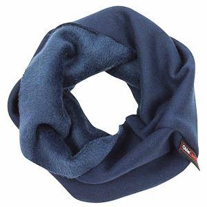 Zimní nákrčník tmavě modrý