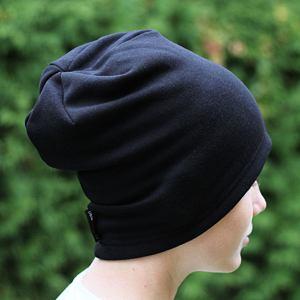 Zimní čepice pánská černá