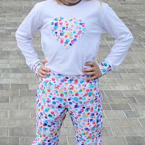 Pyžamo barevné bubliny