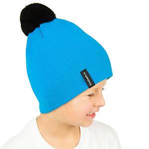Zimní čepice pletená tyrkysová