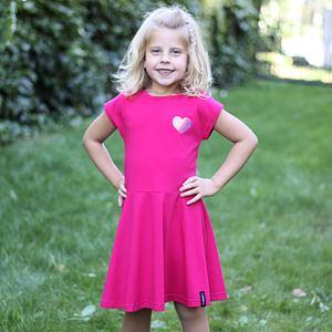 Letní šaty růžové