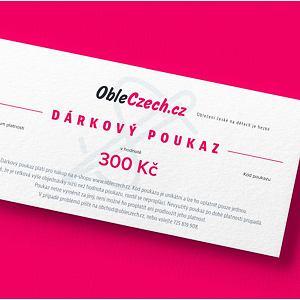 ObleCzech - dárkový poukaz 300 Kč