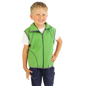 Softshell vesta zelená