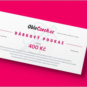 ObleCzech - dárkový poukaz 400 Kč