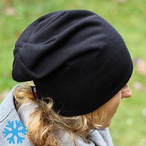 Zimní čepice dámská černá
