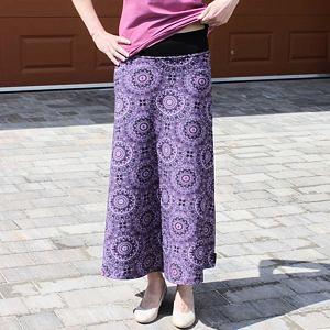 MAXI sukně mandaly