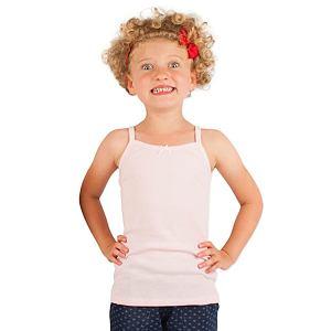 Dívčí košilka světle růžová bavlna 100 %