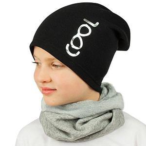 Zimní čepice černá cool
