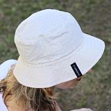 Dámský letní klobouk puntíkovaný ObleCzech