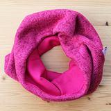 Zimní nákrčník růžový svetrovina