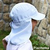 Dětská letní kšiltovka s plachetkou.