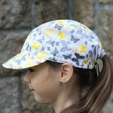 Kšiltovka žlutí a šedí motýlci