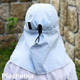 Dětská letní kšiltovka s ochranou krku.