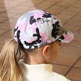 Kšiltovka pro dívky maskáčová bavlněná ObleCzech