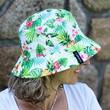 Dámský letní klobouk zelený s ananasy ObleCzech