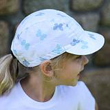 Dívčí letní čepice s měkkým kšiltem motýlková ObleCzech