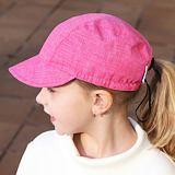 Kšiltovka růžový melír