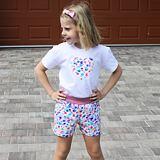 Pyžamo letní barevné bubliny