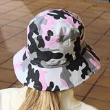 Letní klobouček pro dívky i dámy pudrový maskáč ObleCzech