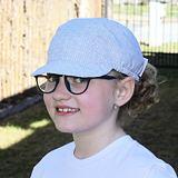 Dívčí letní kšiltovka drobné kytičky ObleCzech