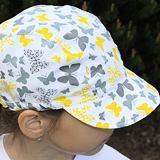 Dívčí letní kšiltovka bavlněná měkký kšilt ObleCzech