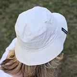 Letní klobouček bavlněný béžový ObleCzech
