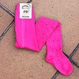Punčocháče puntíky na růžové